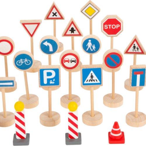 Mänguasi Liiklusmärkide komplekt