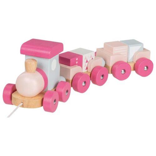 puidust rong roosa värvi
