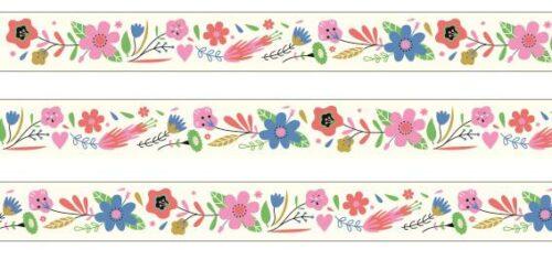 "Dekoratiivne teip ""Lilled"""