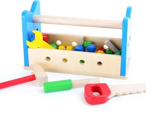 2in1 töölaud ja tööriistakast