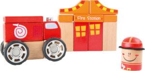 """Puidust ehituskomplekt """"Tuletõrje"""""""