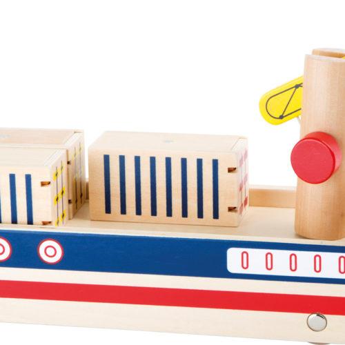 Puidust konteinerlaev
