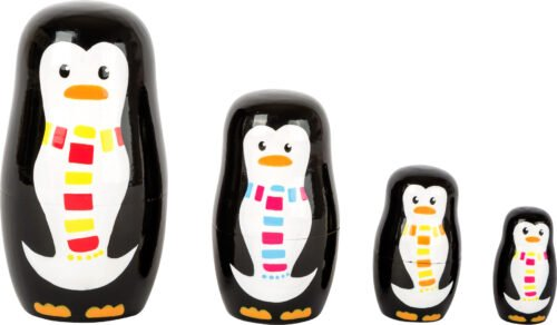 "Matrjoška ""Pingviini pere"""