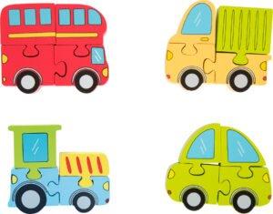 """Sõidukite 3D pusle """"4 sõidukit"""""""
