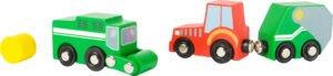 """Small Foot World """"Talu sõidukid"""""""