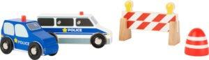 "Small Foot World ""Politseisõidukite komplekt"""