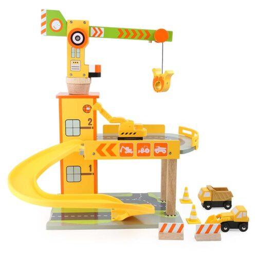 Autoparkla ehitus