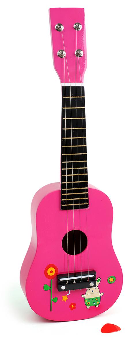 Puidust roosa kitarr