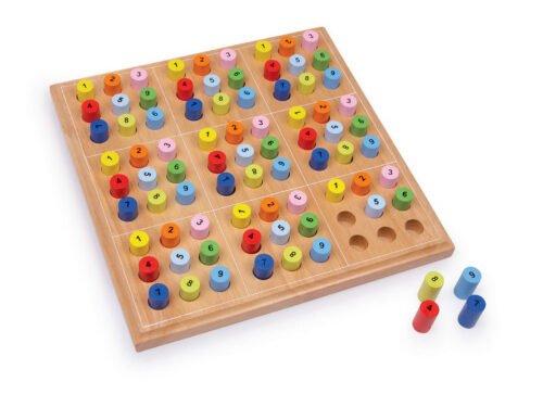Puidust Sudoku