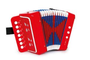 Punane akordion