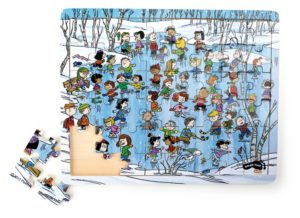 "Snoopy puzzle ""Talv"""