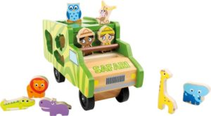 """Kujundite sorteerimine """"Safari buss"""""""