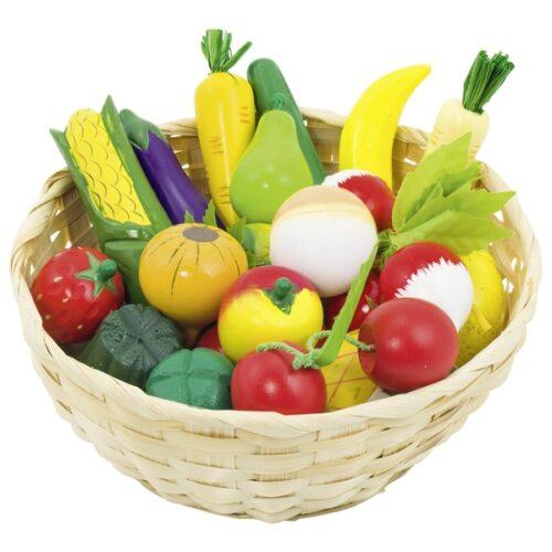 Juur- ja puuvilja korv