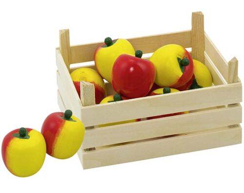 """Puidust puuviljakast """"Õunad"""""""