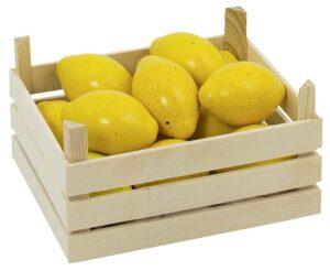 """Puidust puuviljakast """"Sidrunid"""""""