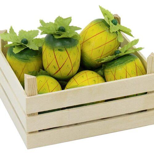 "Puidust puuviljakast ""Ananass"""