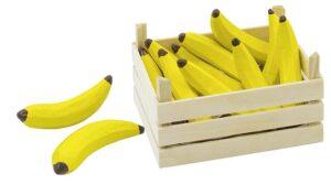 """Puidust puuviljakast """"Banaanid"""""""
