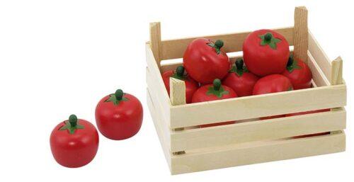 """Puidust juurviljakast """"Tomatid"""""""