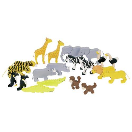 """Puidust loomad """"Aafrika"""""""