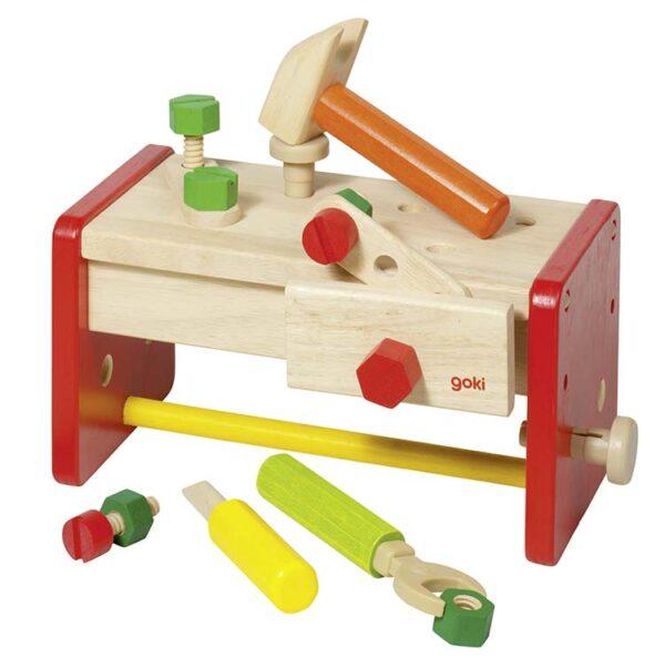 2in1 töölaud ja tööriistakast GOKI