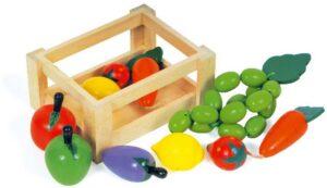 Juurviljad väikses kastis