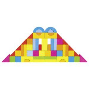 """Ehitusklotsid """"Värviline vikerkaar"""""""