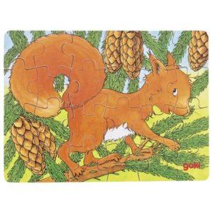 """Mini pusle """"Metsaloom orav"""""""