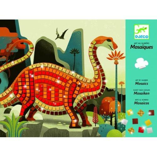 """Kleepsu mosaiik """"Dinosaurused"""""""