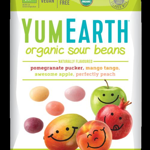 Mahedad Sour Beans kommid, C-vitamiiniga, 50g