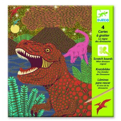 """Kraabitavad pildid """"Dinosaurused"""""""